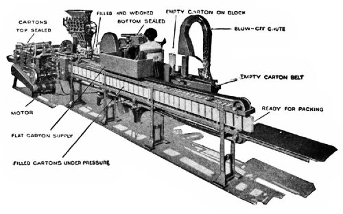 Johnson Carton-Filling, Weighing, and Sealing Machine