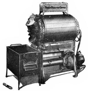 Royal Gas Coffee Roaster for Retail Stores