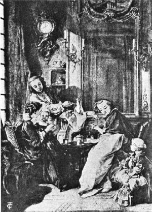 """""""Petit Déjeuner,"""" by Boucher"""