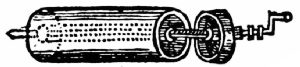 The First Cylinder Roaster, About 1650