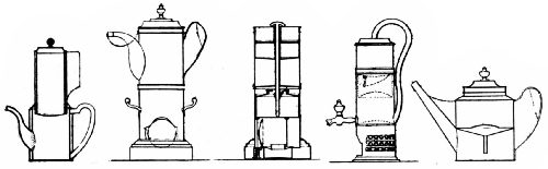 Patent Drawings of Early French Coffee Makers