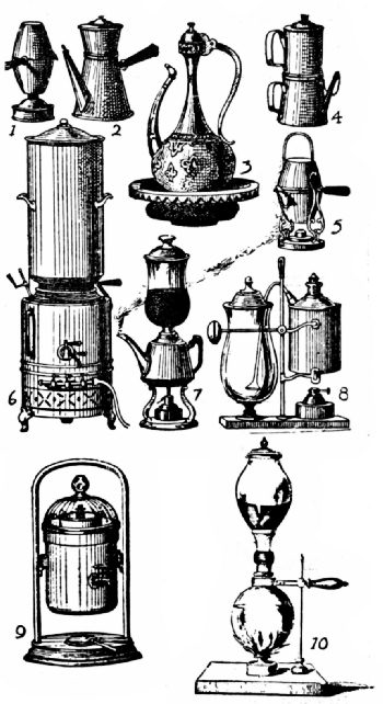 French Coffee Makers, Nineteenth Century
