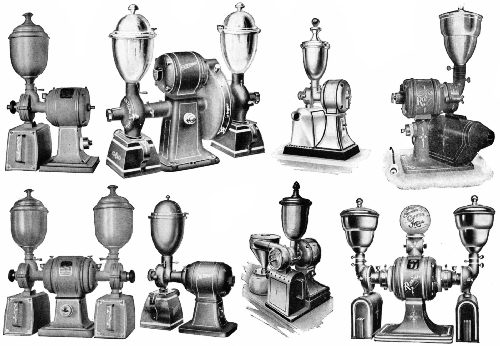 LATEST TYPES OF ELECTRICALLY DRIVEN STORE MILLS