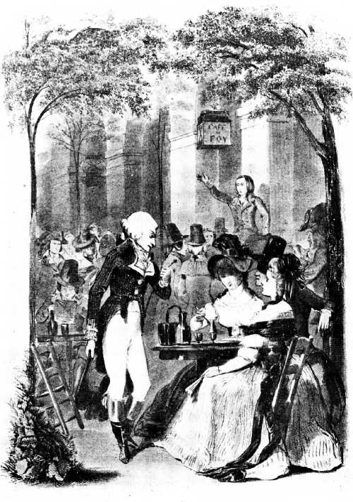 THE CAFÉ FOY IN THE PALAIS ROYAL, 1789