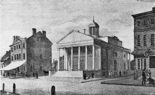 The City Tavern, Built in 1773, and Known as the Merchants Coffee House