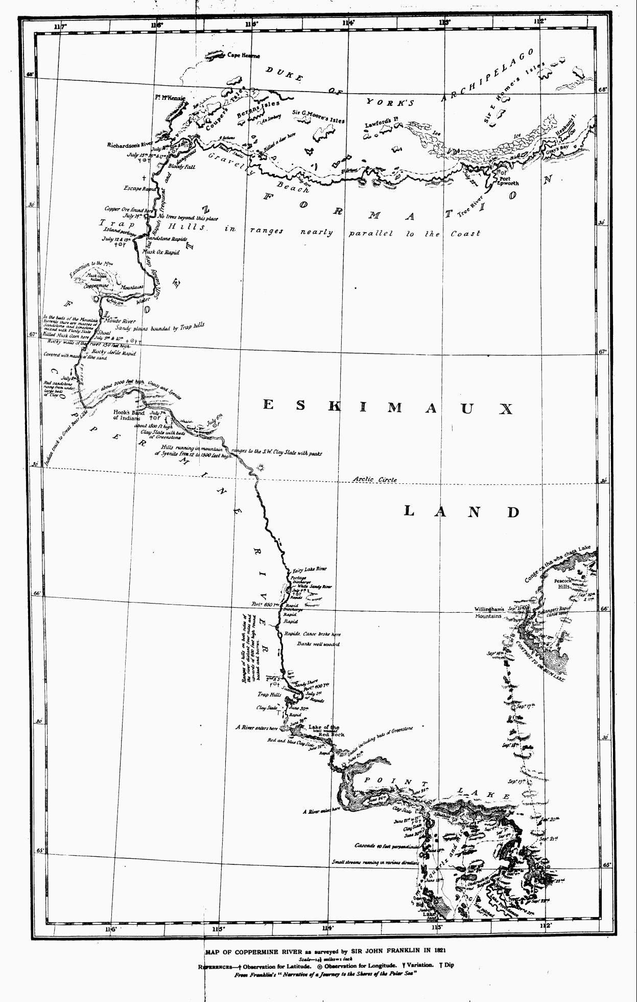 The project gutenberg ebook of a journey from prince of wales's fort in hudson's bay to the northern ocean by samuel hearne