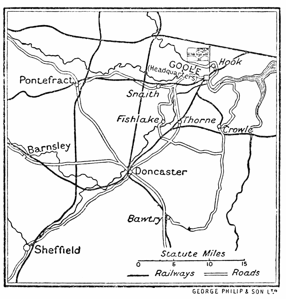 Image unavailable position of the german forces twenty four hours after landing at goole