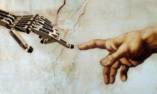 In Inghilterra la prima opera d'arte dipinta da un'IA
