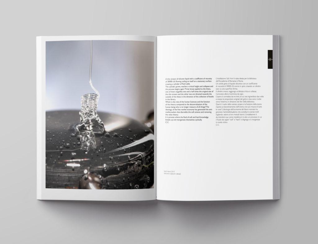 Interno catalogo arte della casa editrice a Salerno Gutenberg Edizioni