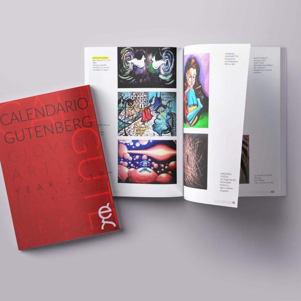 pubblicazione catalogo gutenberg edizioni 2018