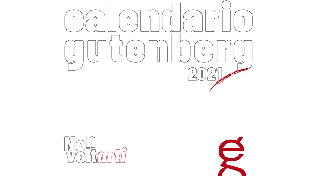 Calendario Gutenberg 2021,  dodici opere contro la Violenza sulle Donne