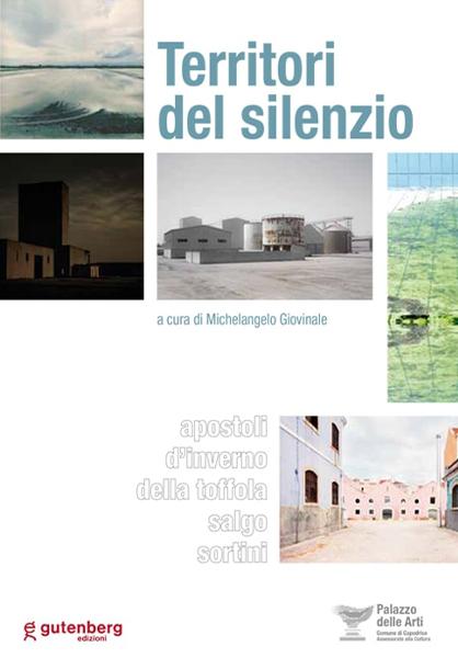 copertina catalogo arte Territori del silenzio di Michelangelo Giovinale