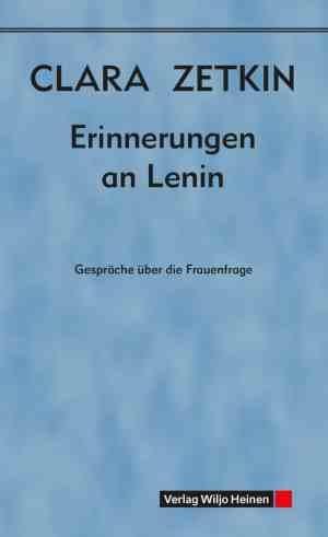 Cover: »Erinnerungen an Lenin«