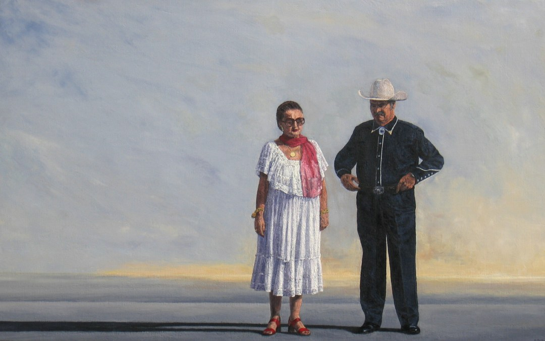 LE COUPLE,  2006, 73x116