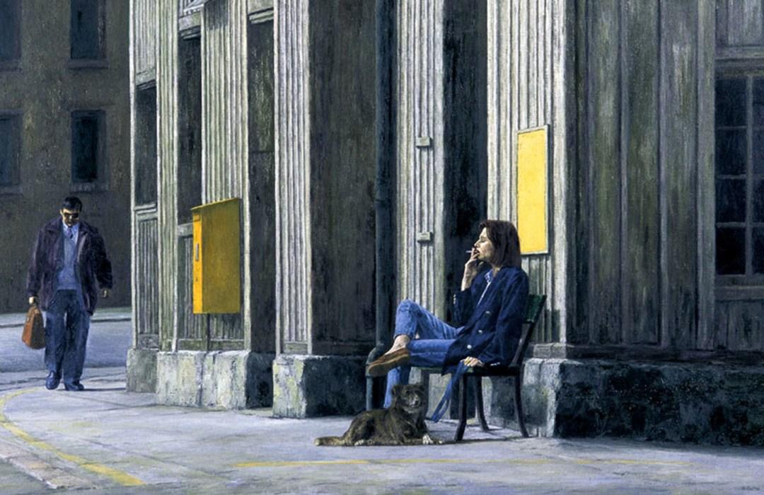 L'ATTENTE, 1995, 80x123