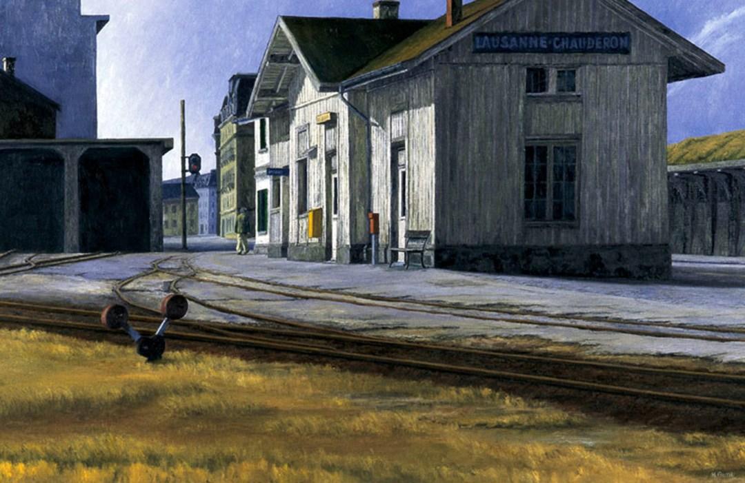 LAUSANNE CHAUDERON, 1995, 80x123