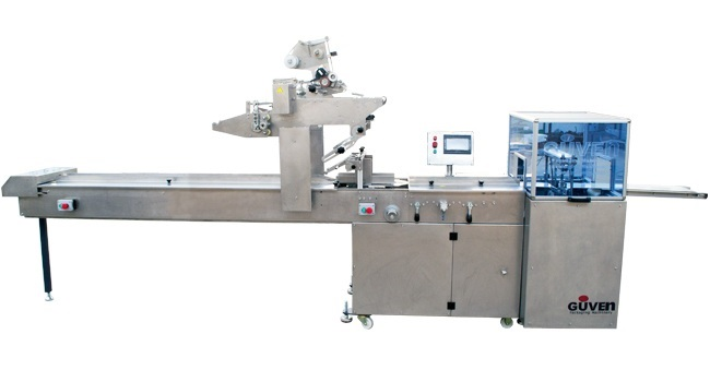 GM 103FS - 4AXIS SERVO BOX MOTION HFFS FLOWPACK PACKAGING MACHINE