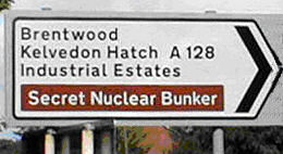 Funny Picture of a Nuclear Bunker