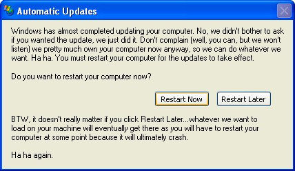 Funny Computer Messages