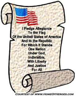 4th July Independence Day Pledge