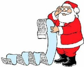 Funny Santa Claus Letters