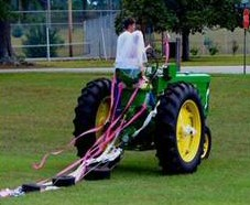 Funny Straw Tractor - Maid of honour speech!