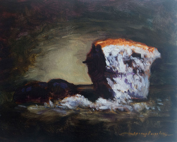 Oil on Canvas Panel – 300 x 245 mm