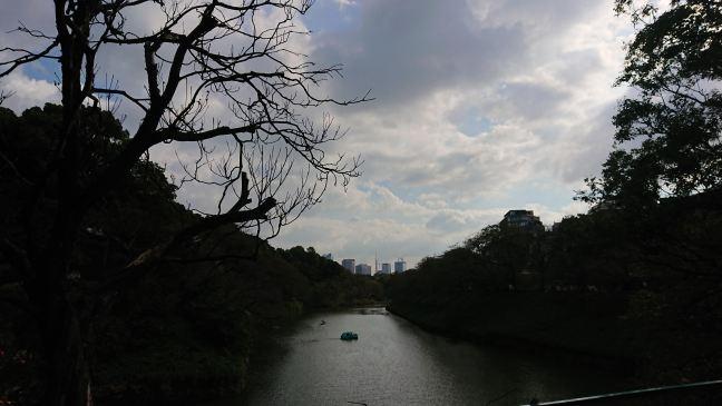 Chidorigafuchi, next to Budokan