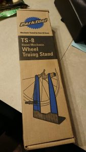 Park Tool TS-8 Wheel Truing Stand in the box