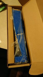 Park Tool wheel truing stand -- opening the box