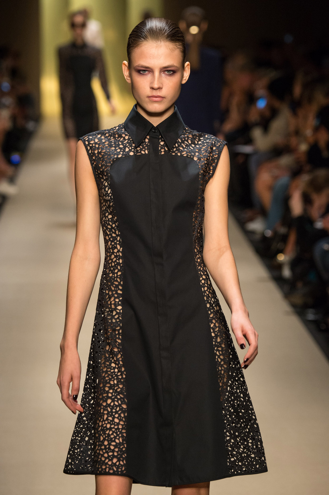Guy Laroche dress by Marcel Marongiu, Spring 2015