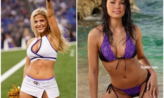 Superbowl Cheerleaders: Ravens Edition