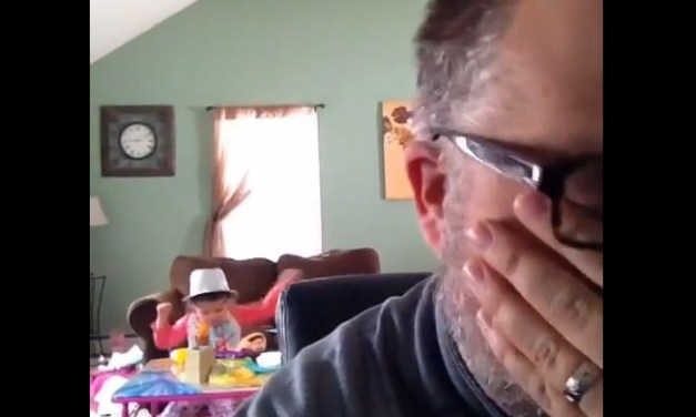 Watch: Father's hilarious/miserable Saturday mornings with his daughter