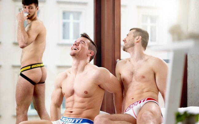 Männer in DOiT Unterwäsche