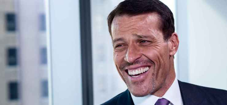 Tony Robbins is 59. That's a few years past 40.