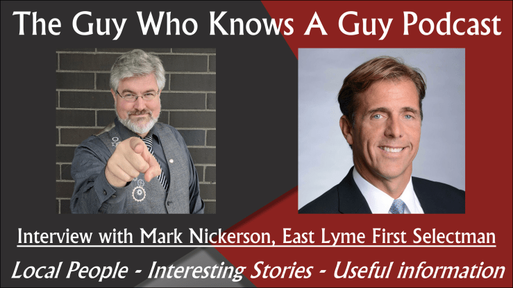 The Guy Who Knows A Guy Podcast, Episode 15, Mark Nickerson