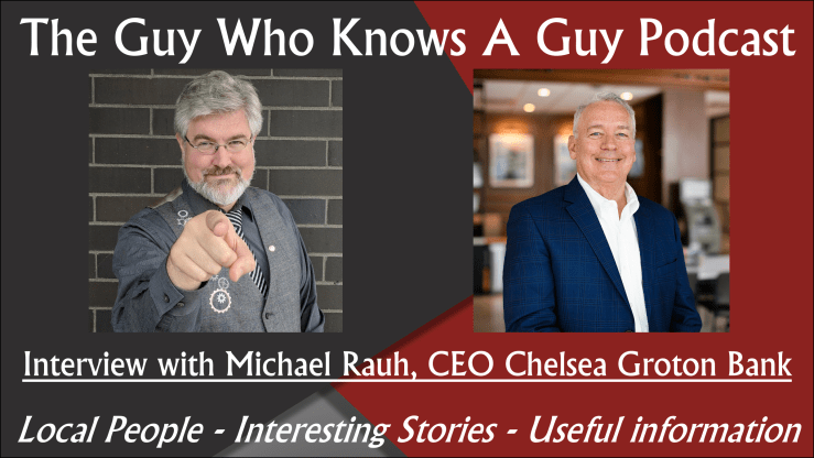 The Guy Who Knows A Guy Podcast, Michael Rauh