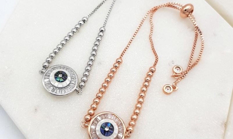 Chrysalini CDB1507 Evil Eye Bracelet $27