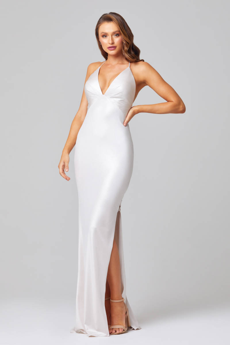 Tania Olsen PO889 Pearl Long Formal or Wedding Gown $399