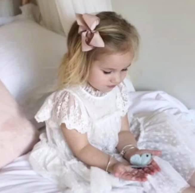 Graceful Heart flower girl dress $80