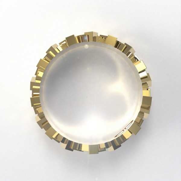 Matter – 002 – 14k Yellow Gold