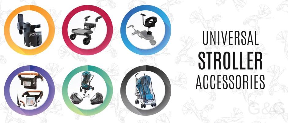 guzzie+Guss Universal Stroller Accessories