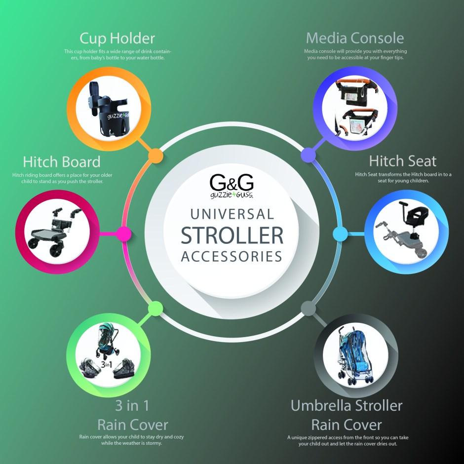 Universal Stroller Accessories | guzzie+Guss