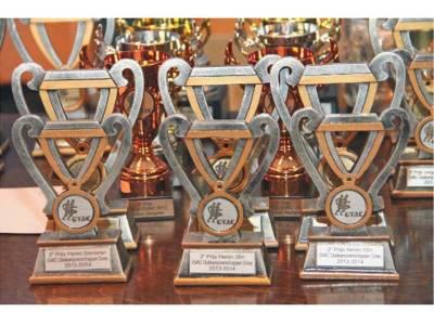 bekers GVAC clubkampioenschappen 13-14