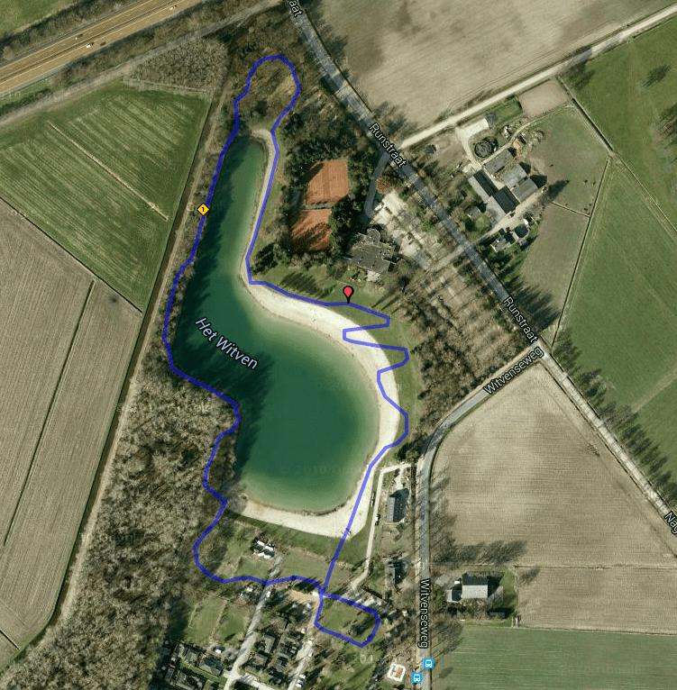 Witvencross route 2015
