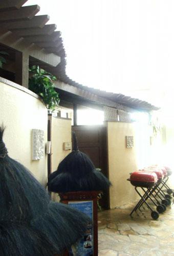 マンダラスパのプライベートルーム