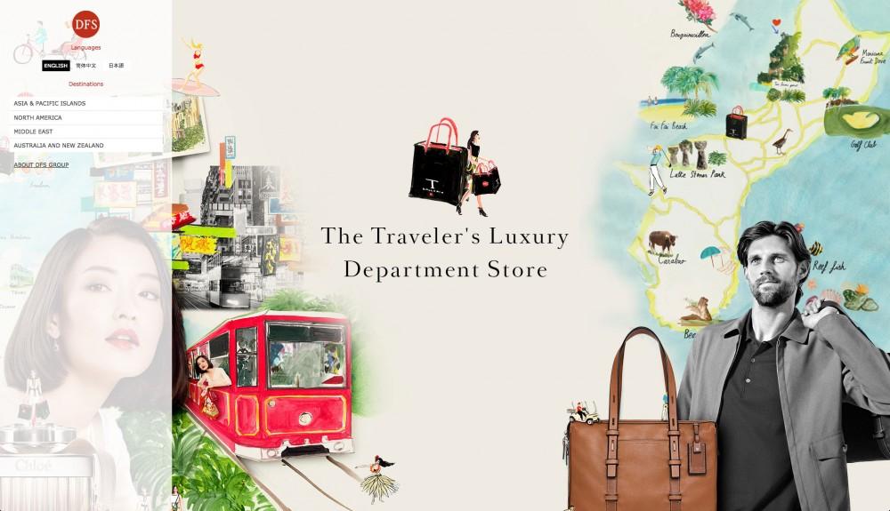 The Traveler's Luxury Department Store (DFS.COM)