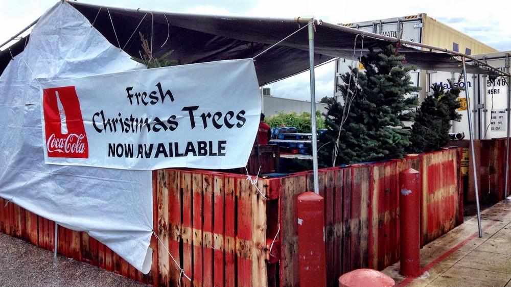 フレッシュクリスマスツリーの即売所 (コストUレス)