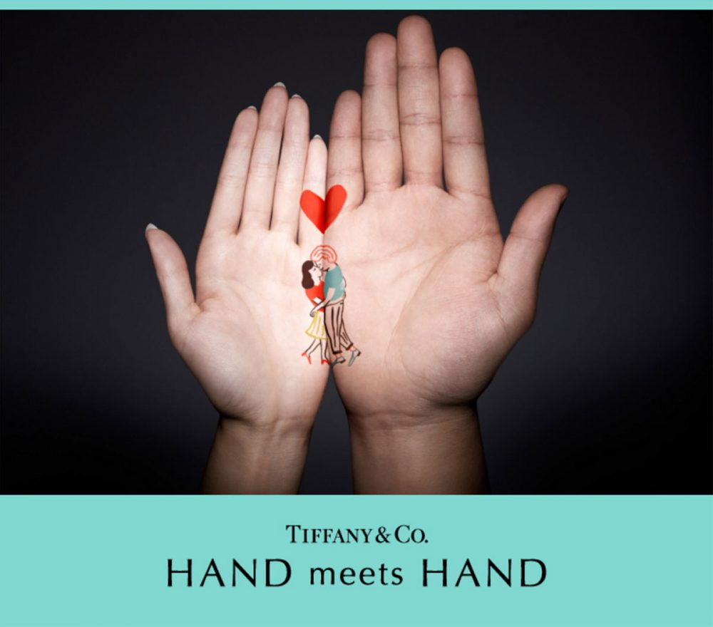 ティファニーのハンドミーツハンド(HAND meets HAND)