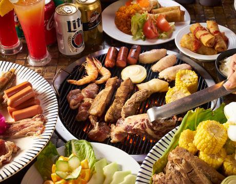 BBQを食べながら楽しめる、オンワードビーチリゾートの『ポリネシアンディナーショー』